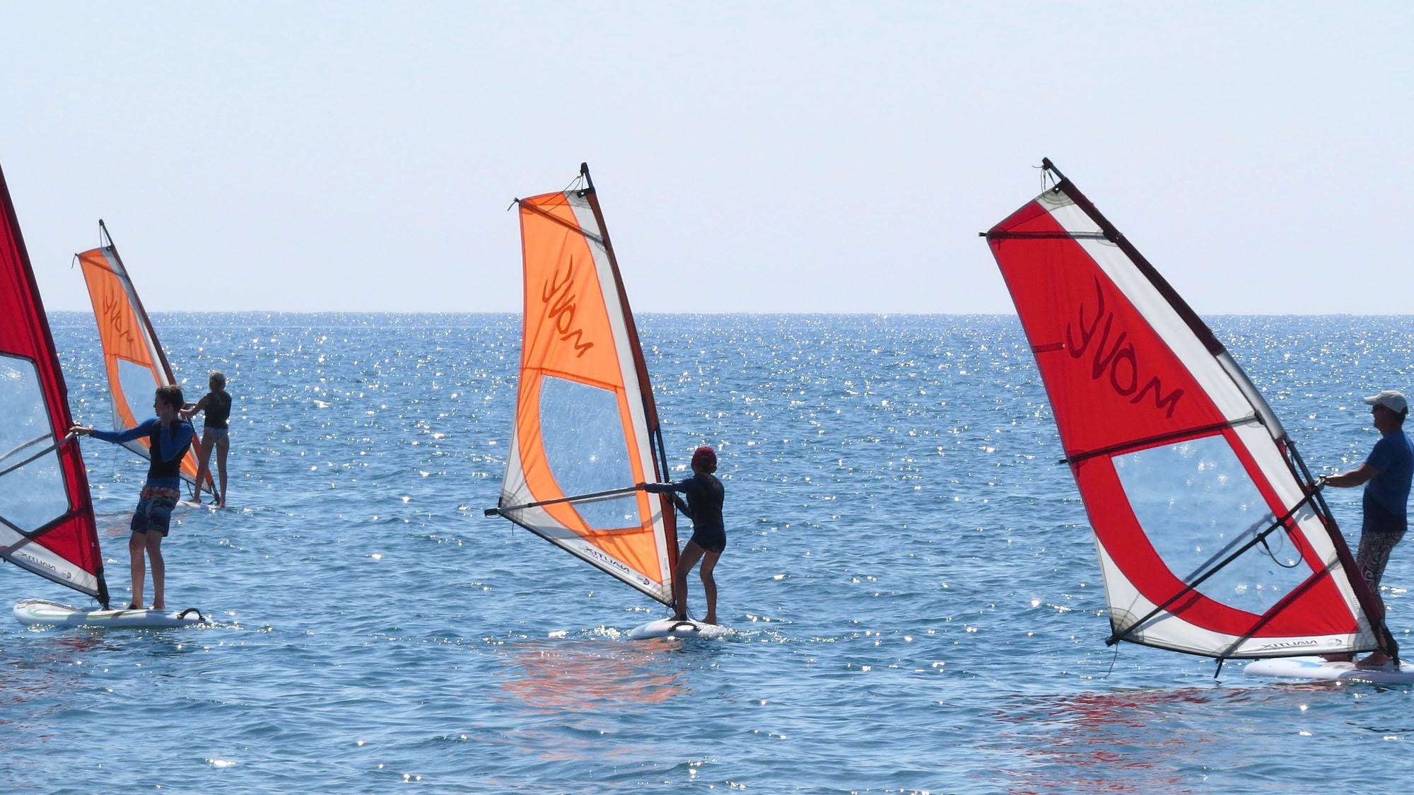 Windsurf, SUP and Catamaran